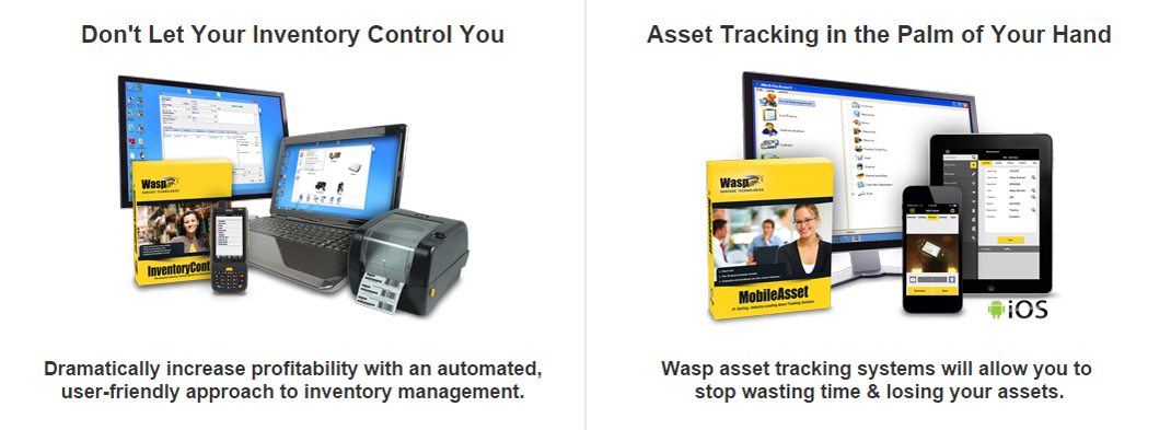 Inventory Control & Asset Tracking