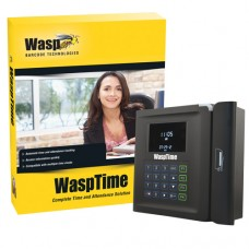 WaspTime v7 with Barcode Time Clock