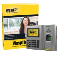 WaspTime v7 with Biometric Time Clock