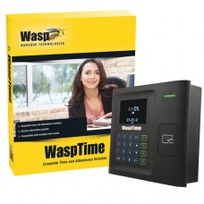 WaspTime v7 with HID Time Clock
